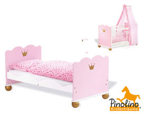 rosa prinzessinnen babyzimmer online kaufen prinzessin karolin. Black Bedroom Furniture Sets. Home Design Ideas