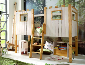 g nstige kinderzimmereinrichtung im ritterburg design. Black Bedroom Furniture Sets. Home Design Ideas