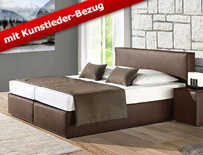 nachttisch konsole aus kunstleder z b in grau tolentino. Black Bedroom Furniture Sets. Home Design Ideas