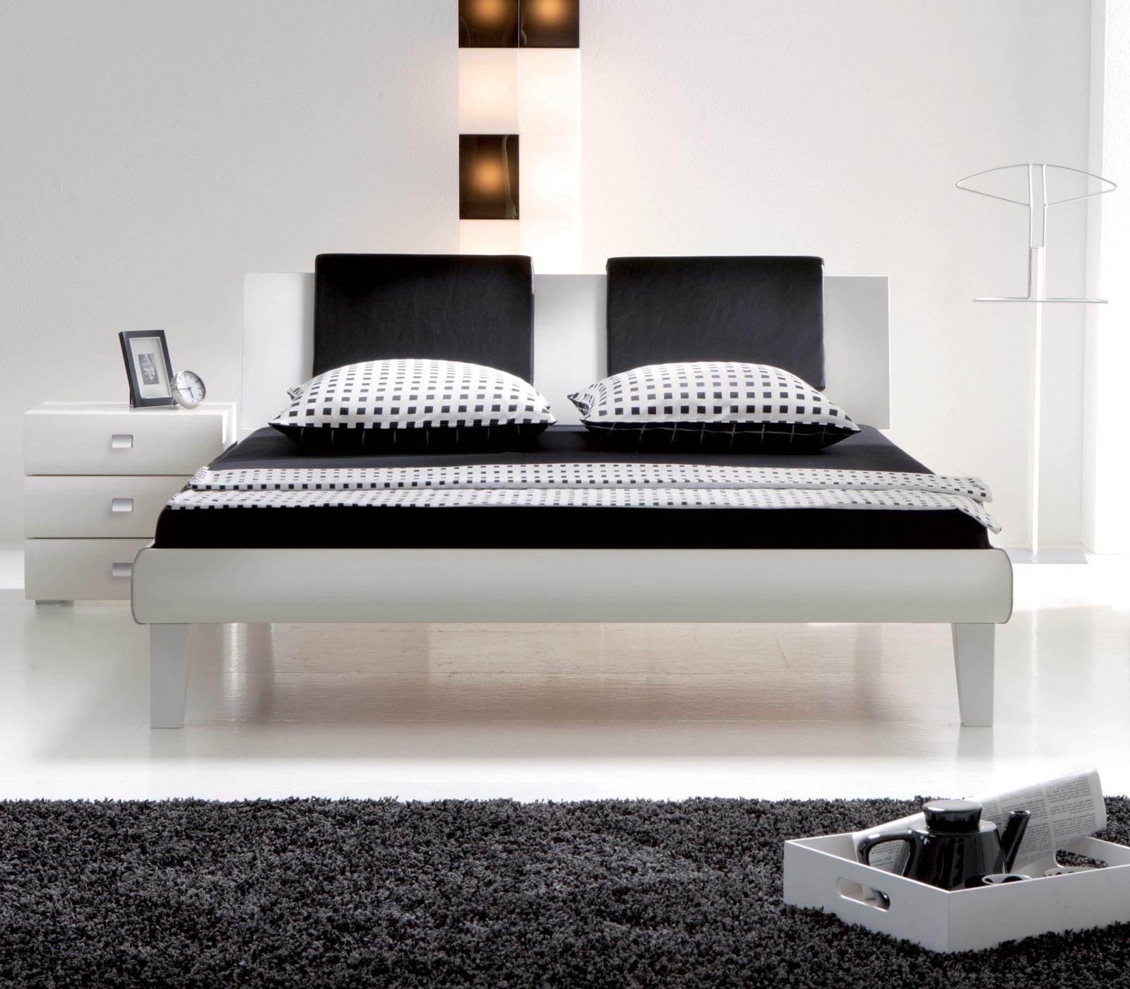 Designer bett 140x200  Designerbett in z.B. 140x200 cm auf Rechnung - Arona