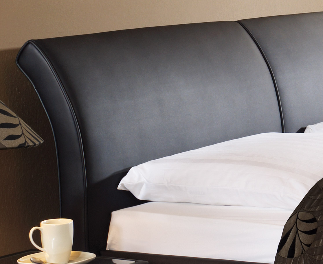 Polsterbett Trapani mit Bettkasten in z.b. 180x200 cm