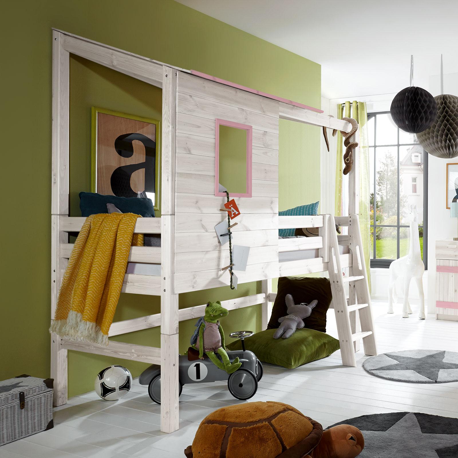 t v gepr ftes abenteuer hochbett kids paradise. Black Bedroom Furniture Sets. Home Design Ideas