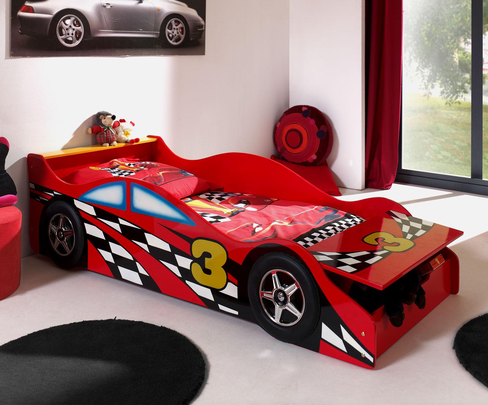 kinder auto bett autobett energy blau cm bei pocode with. Black Bedroom Furniture Sets. Home Design Ideas