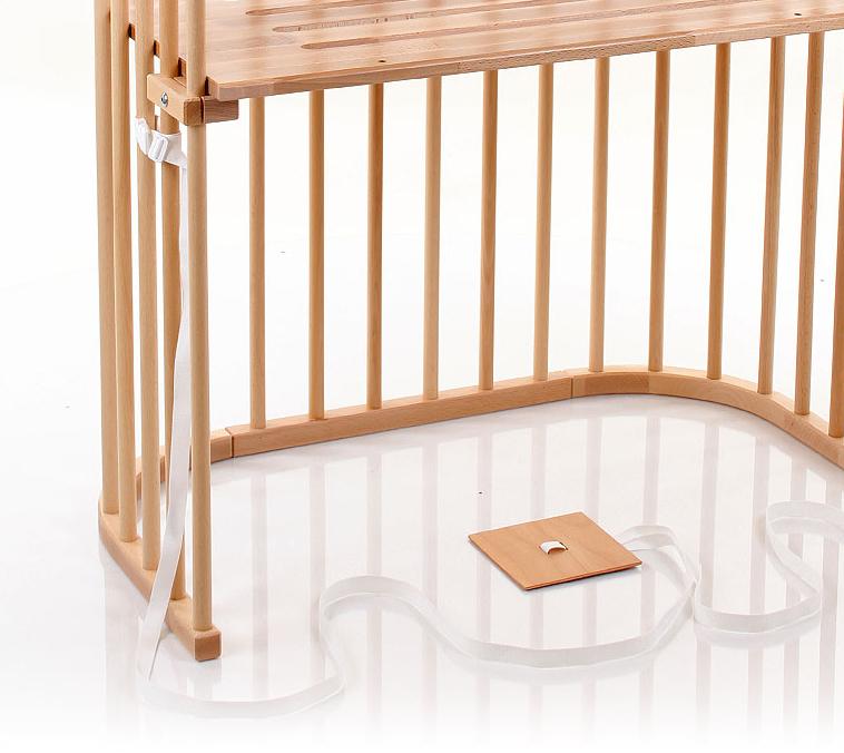 beistellbett zur montage am boxspringbett babybay boxspring. Black Bedroom Furniture Sets. Home Design Ideas