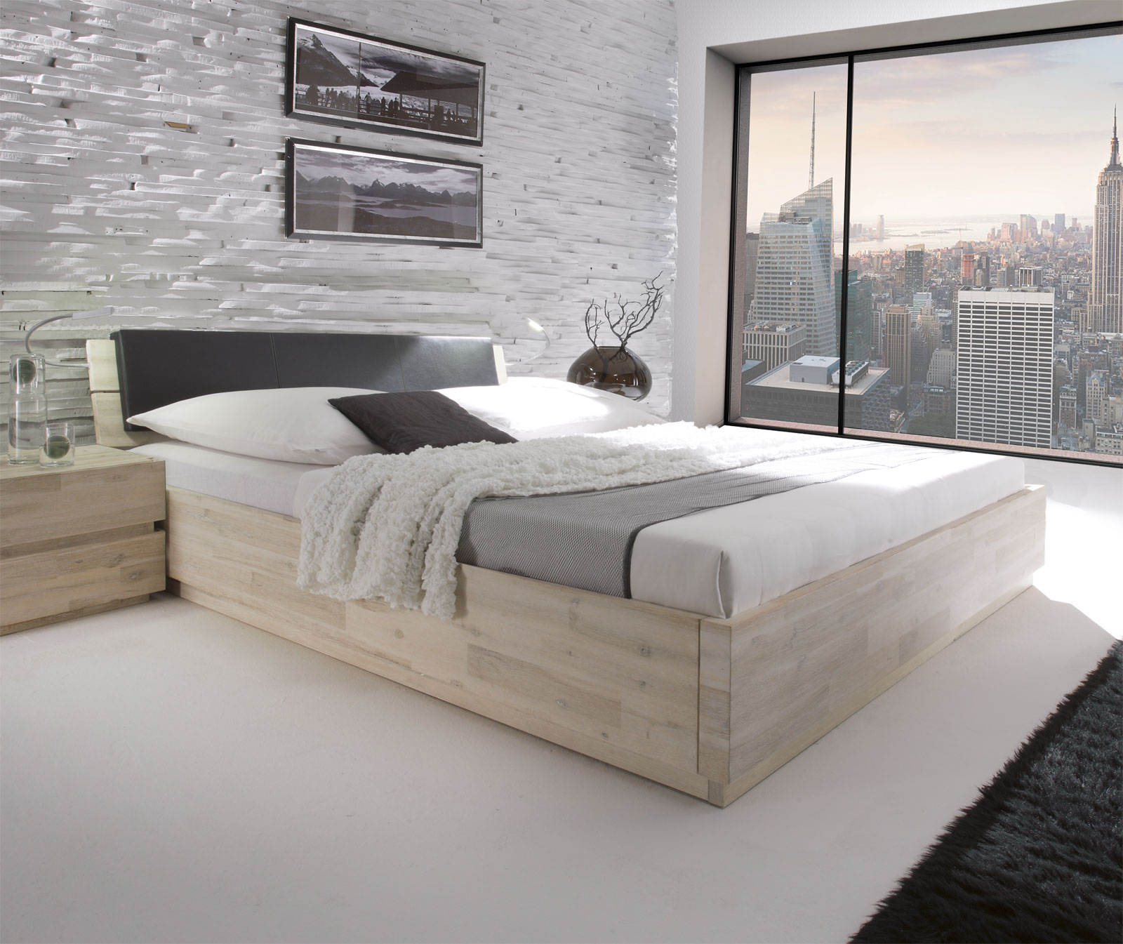 schlafzimmer kommode kernbuche massiv innenr ume und. Black Bedroom Furniture Sets. Home Design Ideas