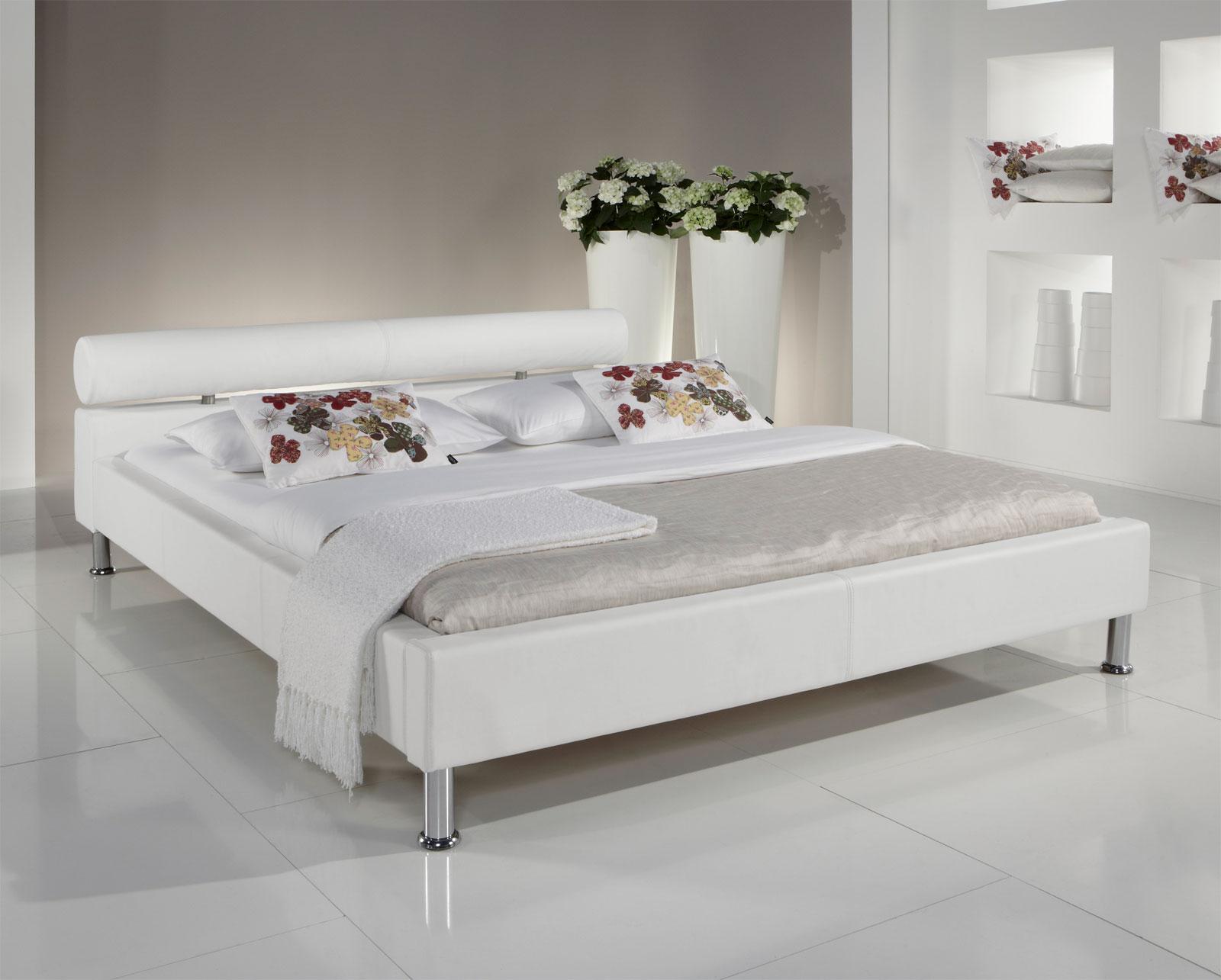 Lederbetten mit Bettkasten - Betten aus Leder günstig