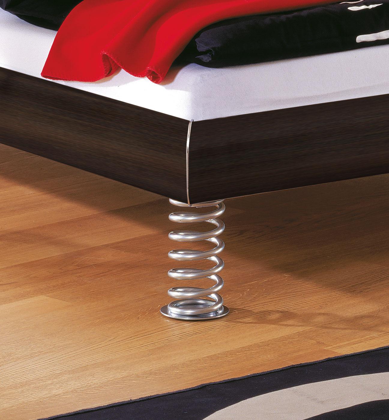 Designerbett Elastic mit Federn als Füße | BETTEN.de