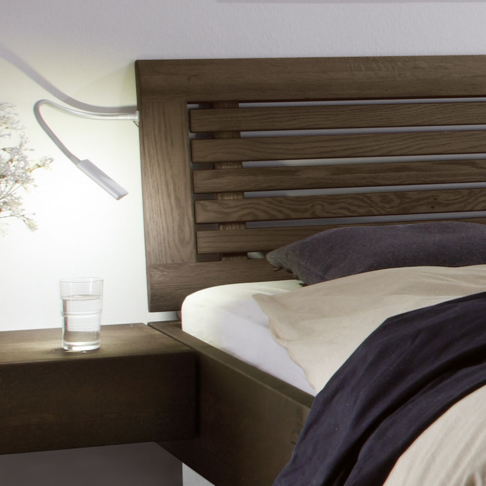 Holzbett Mit Bettkasten: Massivholzbett Mit Bettkasten Und Lattenrost