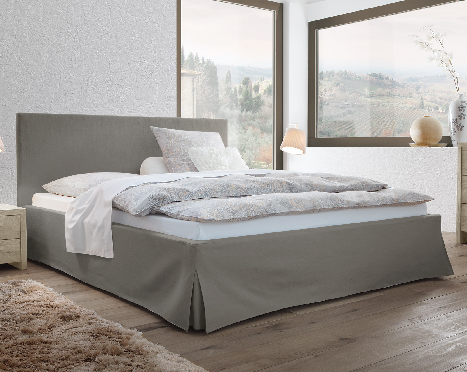 kopfteil bett gepolstert kopfteil bett gepolstert aurele breite 162 cm g nstig bett kopfteil. Black Bedroom Furniture Sets. Home Design Ideas