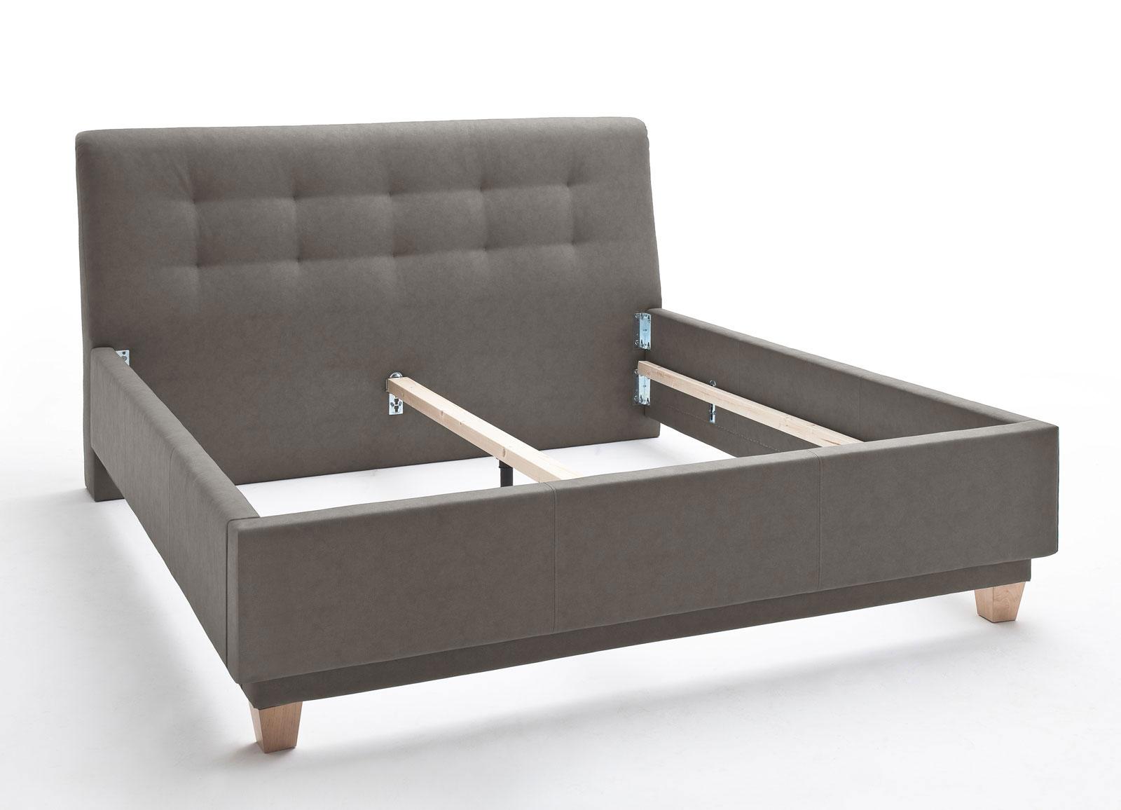 komforthöhe-polsterbett für jumbo-matratzen - saida   betten.de, Hause deko