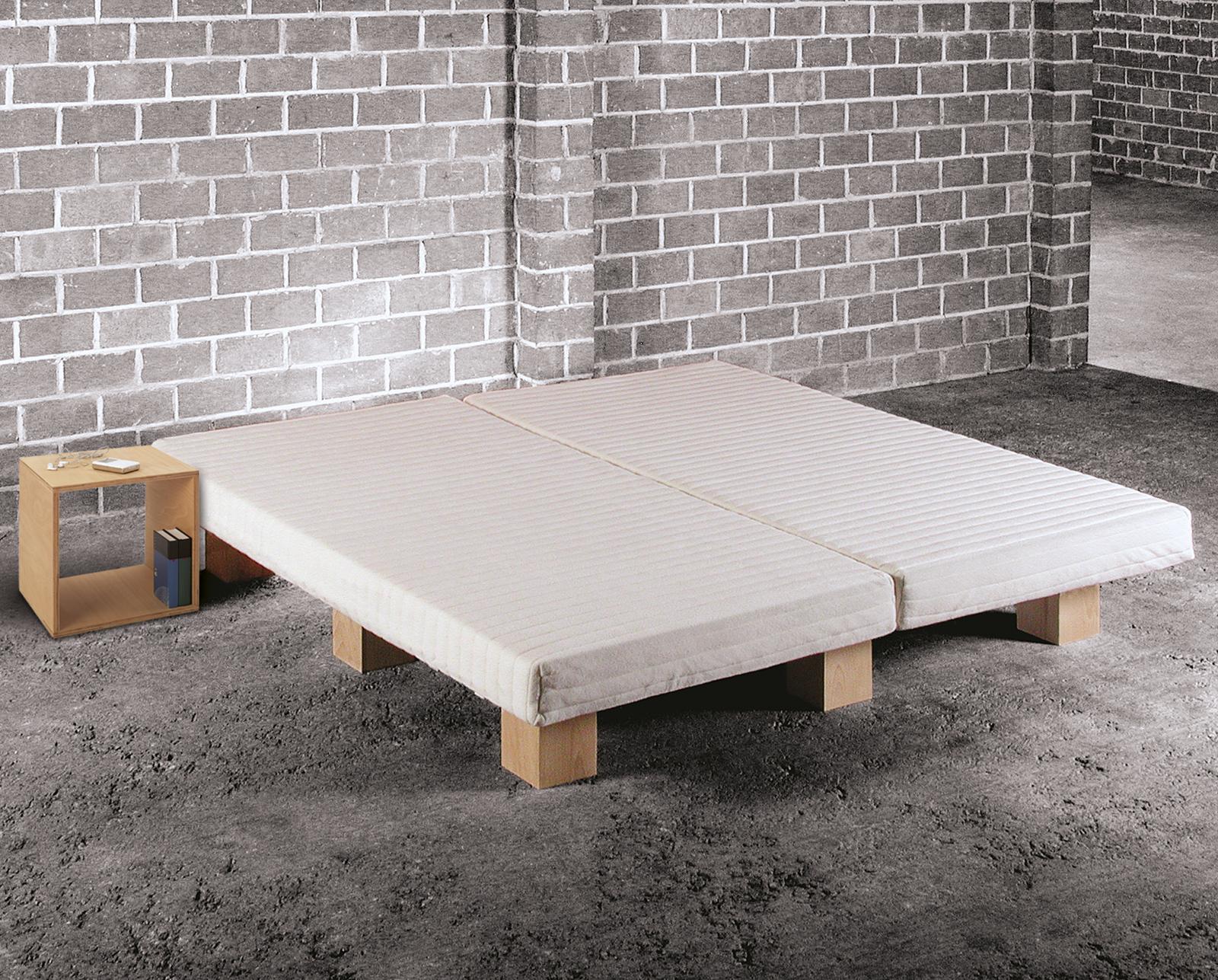 Bett selber bauen ohne lattenrost  Bettsystem Tojo - günstiges innovatives Designerbett | BETTEN.de