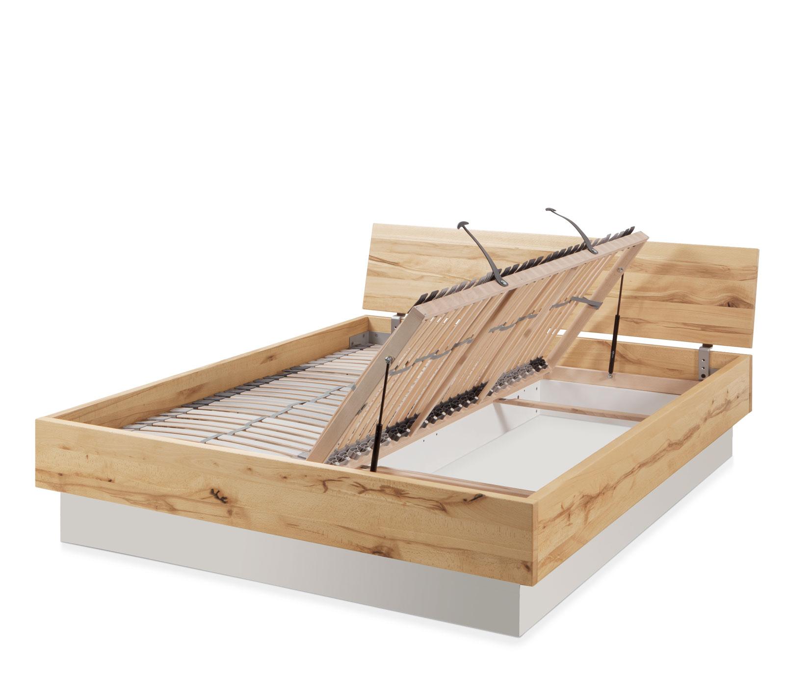 Lattenrost Mit Bettkastenfunktion : massivholzbett mit bettkasten und lattenrost patea ~ Watch28wear.com Haus und Dekorationen