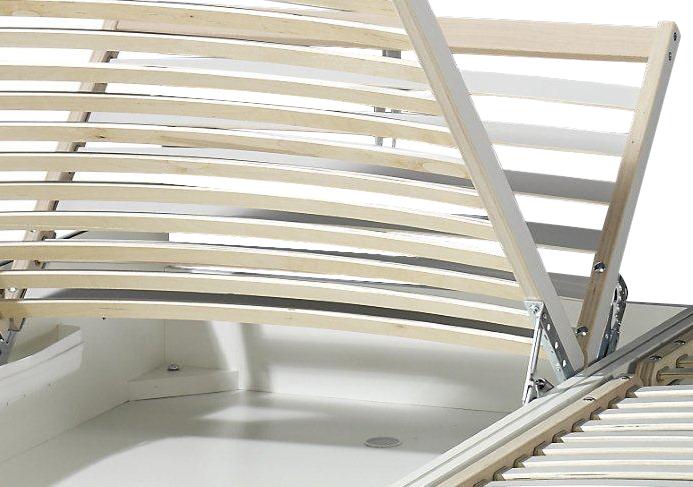 polsterbett trapani mit bettkasten in z. b. 180x200 cm, Hause deko