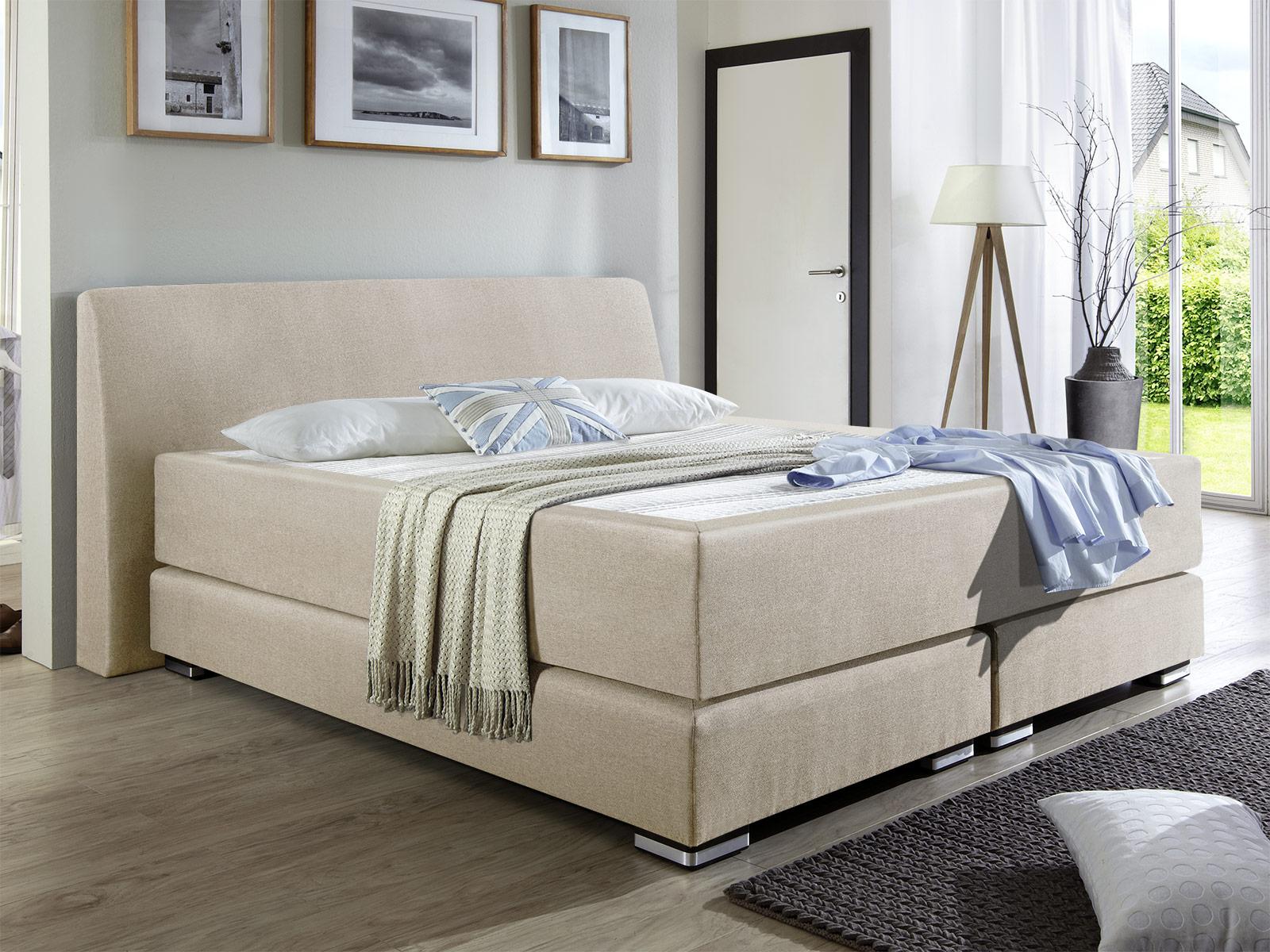 malie boxspringbett mit amerikanischem liegegef hl highland. Black Bedroom Furniture Sets. Home Design Ideas