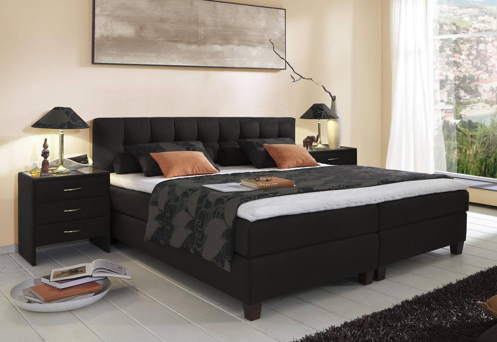 boxspringbett luciano z b in gr e 180x200cm. Black Bedroom Furniture Sets. Home Design Ideas