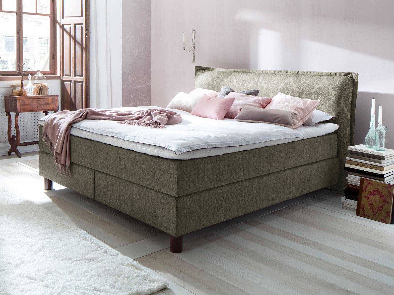 bett im landhausstil boxspring bett 28 images. Black Bedroom Furniture Sets. Home Design Ideas