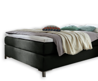 luxus boxspringbett f r kleine r ume paguera. Black Bedroom Furniture Sets. Home Design Ideas