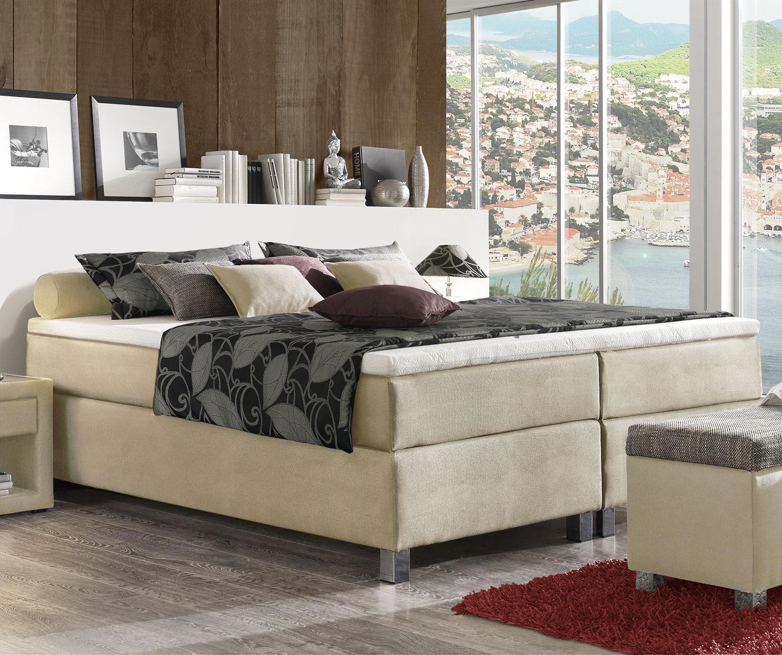 boxspringbett ohne metall neuesten design kollektionen f r die familien. Black Bedroom Furniture Sets. Home Design Ideas