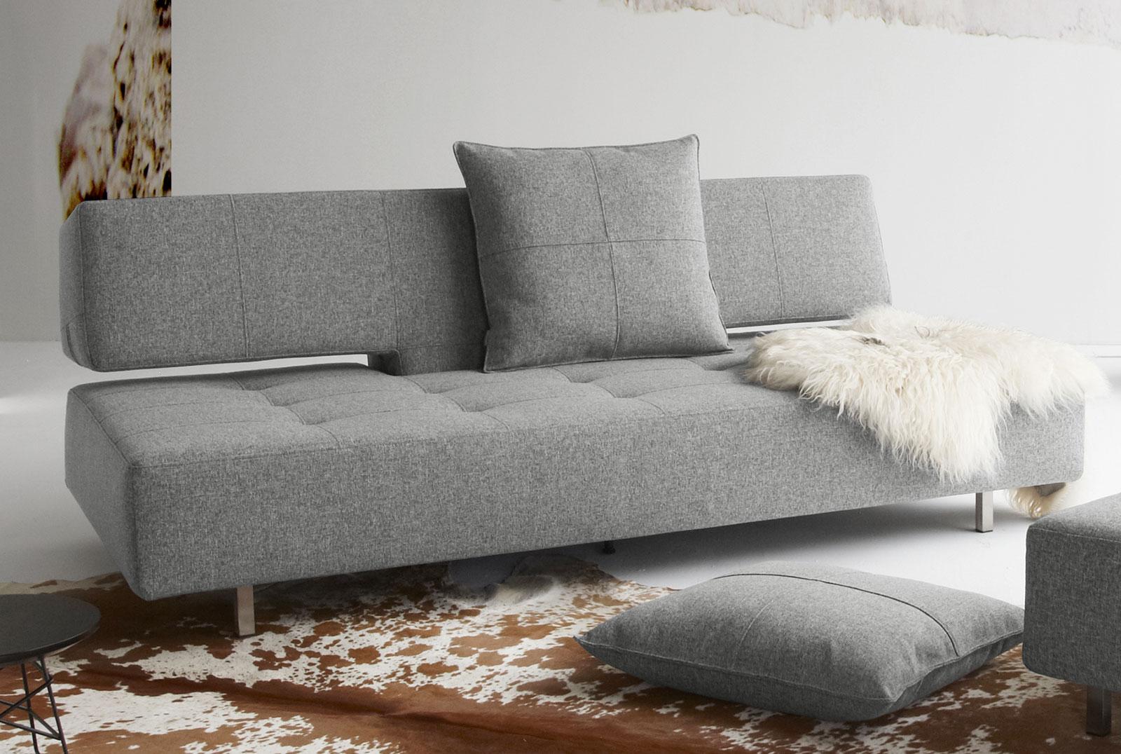 verstellbares schlafsofa mit sitztiefe ber 70 cm ross. Black Bedroom Furniture Sets. Home Design Ideas