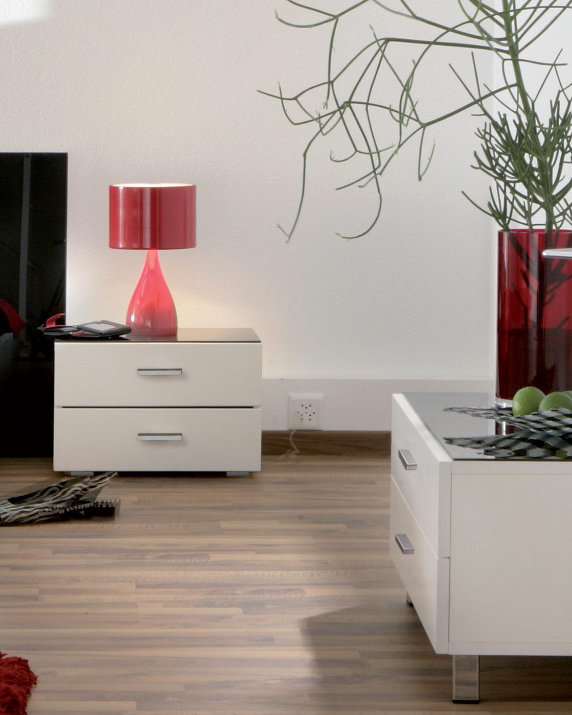 nachttisch mit dekor oberfl che bestellen cubo. Black Bedroom Furniture Sets. Home Design Ideas