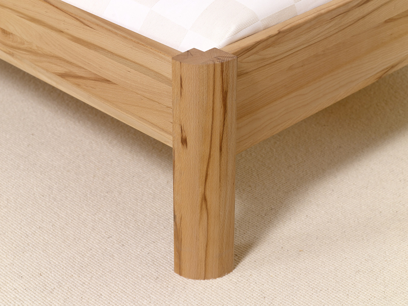 massivholzbett pavia aus buche biologisch ge lt. Black Bedroom Furniture Sets. Home Design Ideas