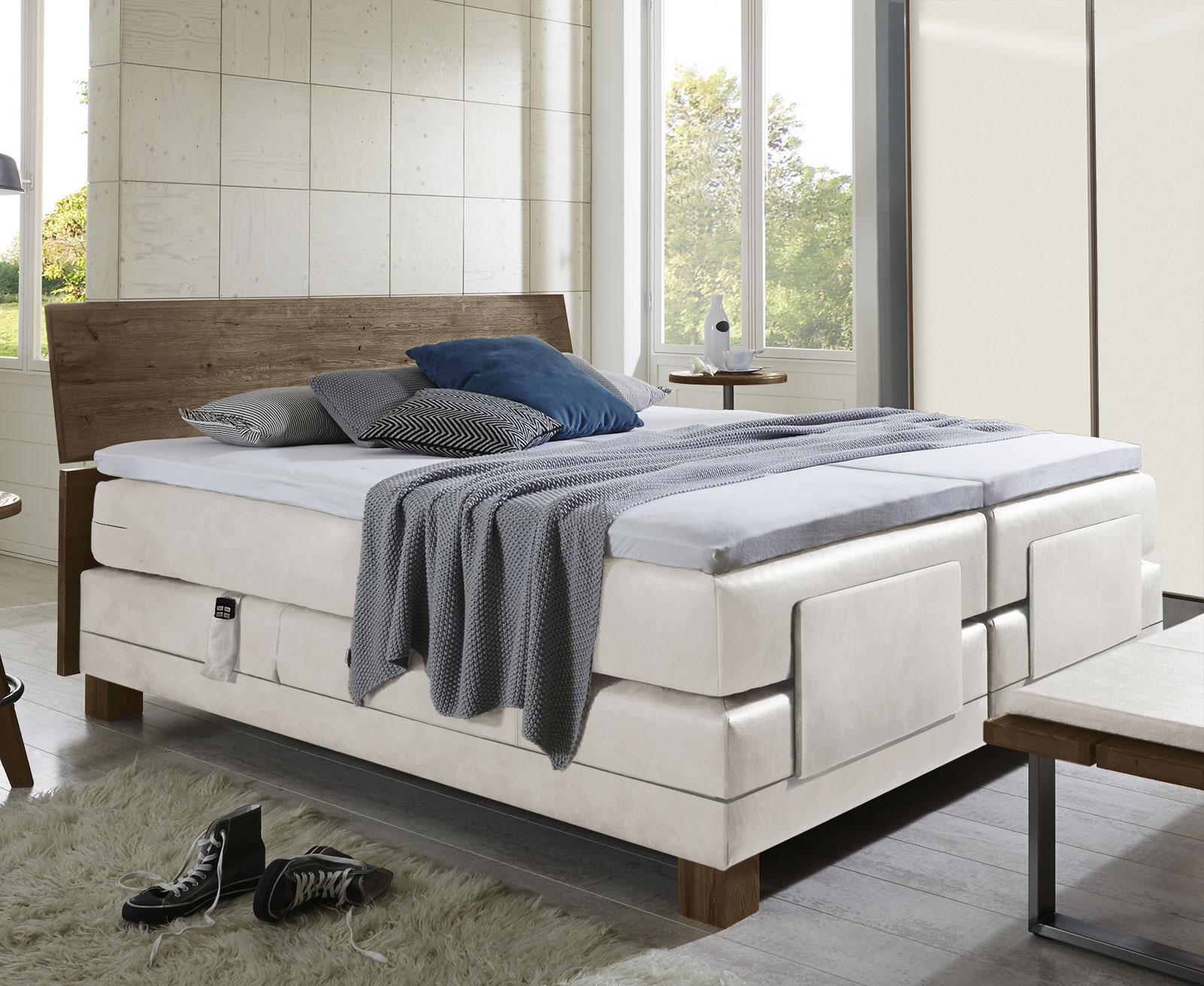 elektrisches boxspringbett in 200x200 cm avila elektro. Black Bedroom Furniture Sets. Home Design Ideas