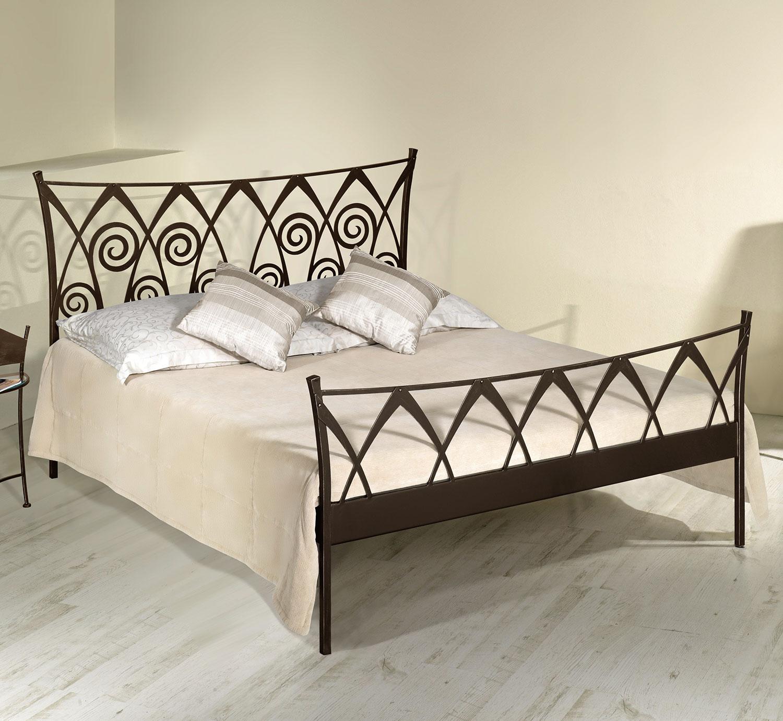 verschn rkeltes bett z b in wei ab 160x200 trojan. Black Bedroom Furniture Sets. Home Design Ideas