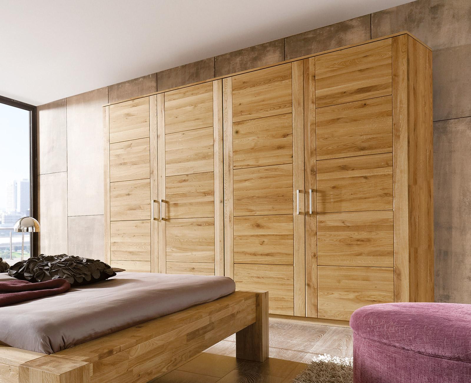 Kleiderschränke Aus Wildeiche Für Schlafzimmer Bettende