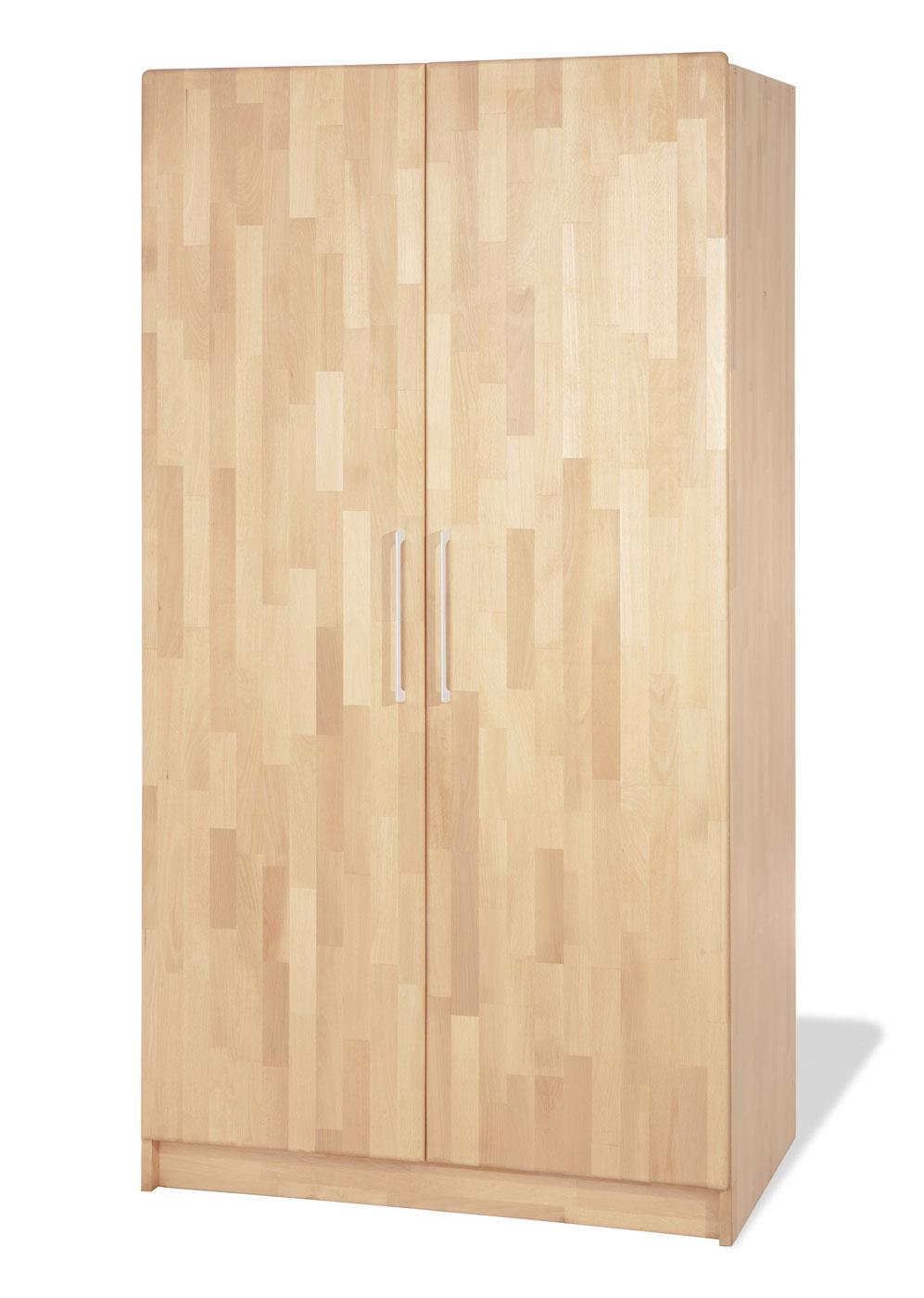 Kinder-Kleiderschrank wahlweise mit 2 oder 3 Türen - Natura | {Kinderzimmer buche 91}