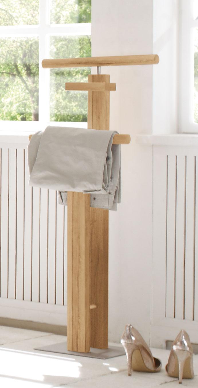 attraktiver herrendiener aus ge lter wildbuche trient. Black Bedroom Furniture Sets. Home Design Ideas