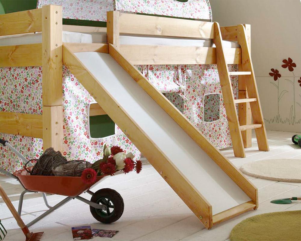 Das Himmel Hochbett Kids Dreams Ist Auch Mit Rutsche Lieferbar Beispielabbildung