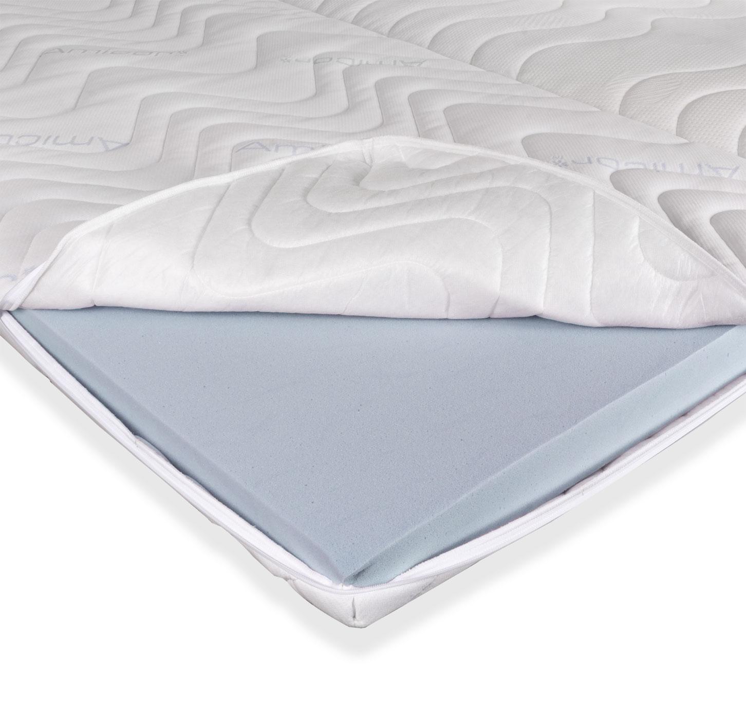 kaltschaum topper weich f r ihr boxspringbett. Black Bedroom Furniture Sets. Home Design Ideas