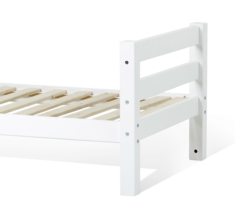 Weiß lackiertes Kinderbett aus massivem Kiefernholz - Kids Royalty