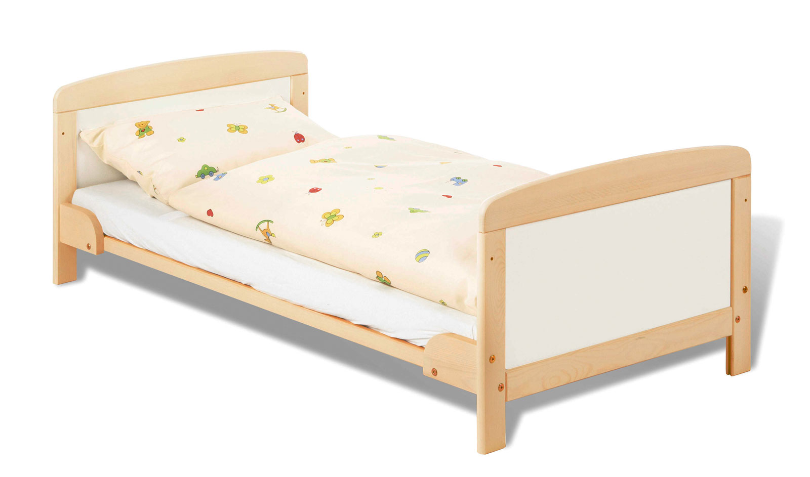 kinderbett aus buche umbaubar zum juniorbett florian. Black Bedroom Furniture Sets. Home Design Ideas