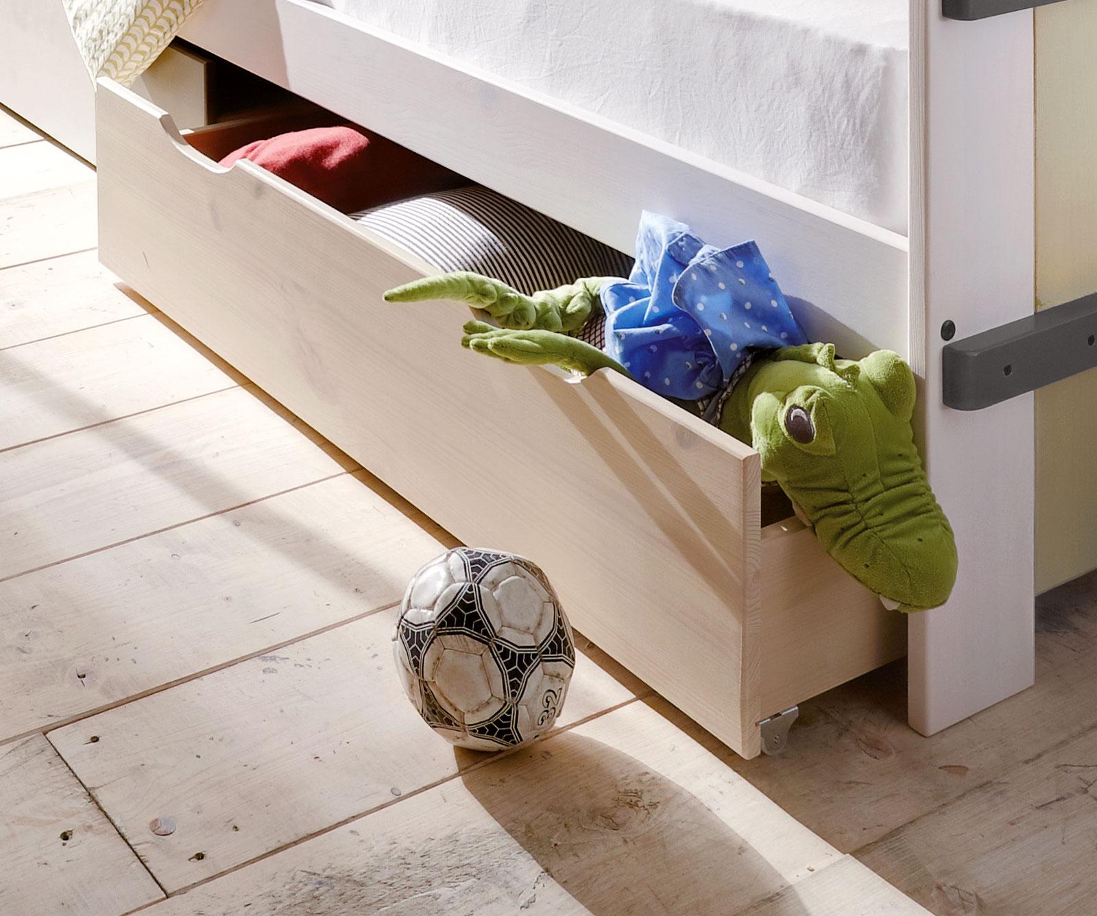 kinderbett mit stauraum finest kojenbett boro with. Black Bedroom Furniture Sets. Home Design Ideas