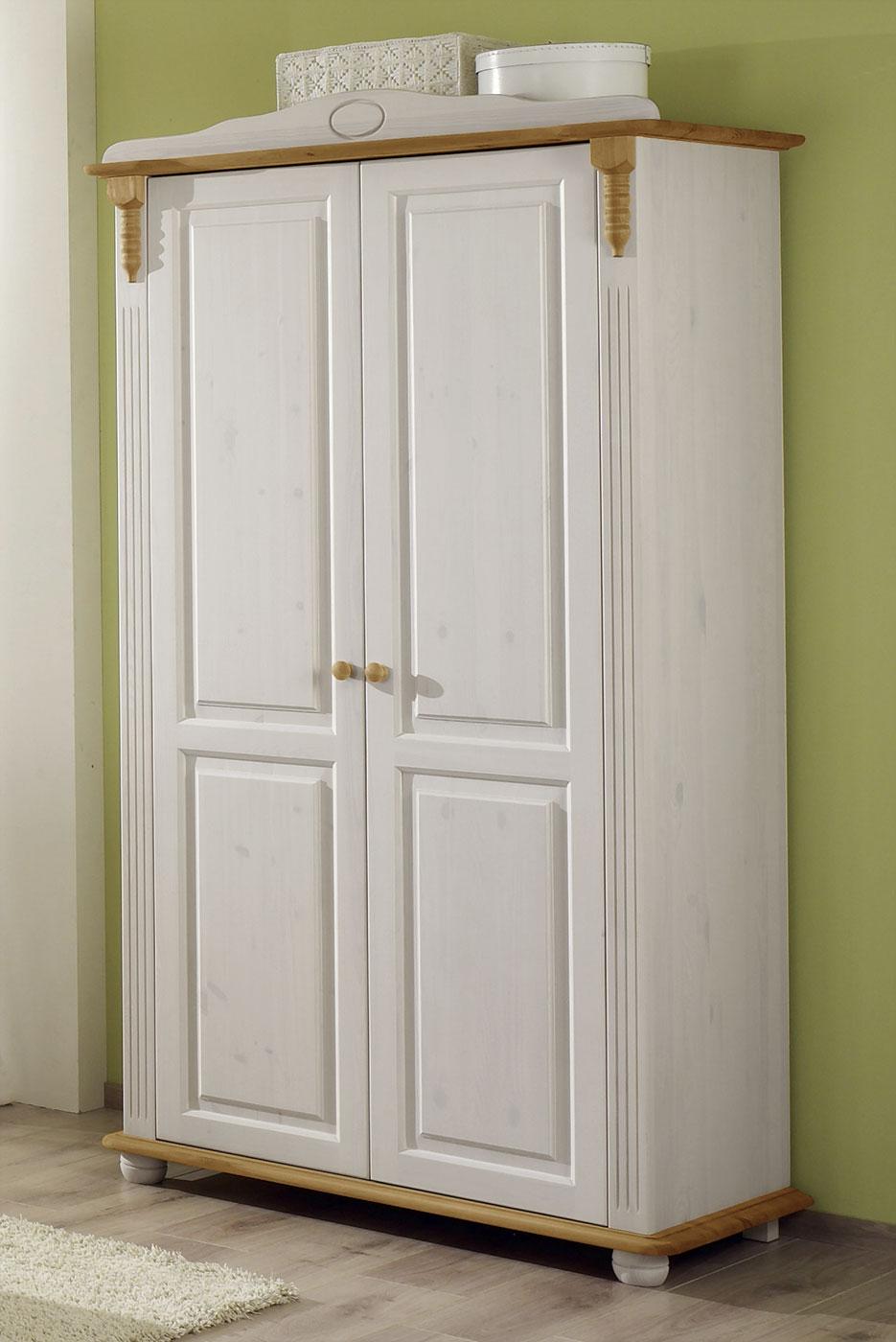 kinderkleiderschrank kiefer massiv 2 oder 3 t rig countryside. Black Bedroom Furniture Sets. Home Design Ideas