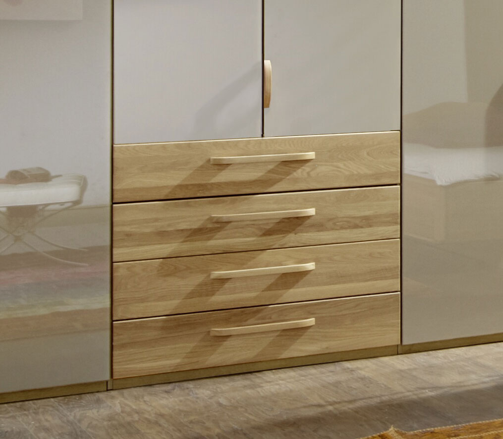 glas faltt ren schrank mit schubladen dartford sahara. Black Bedroom Furniture Sets. Home Design Ideas