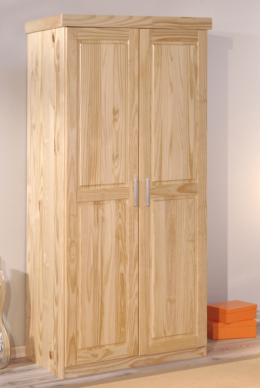 dreht ren kleiderschrank 2 t rig aus massivholz ternitz. Black Bedroom Furniture Sets. Home Design Ideas