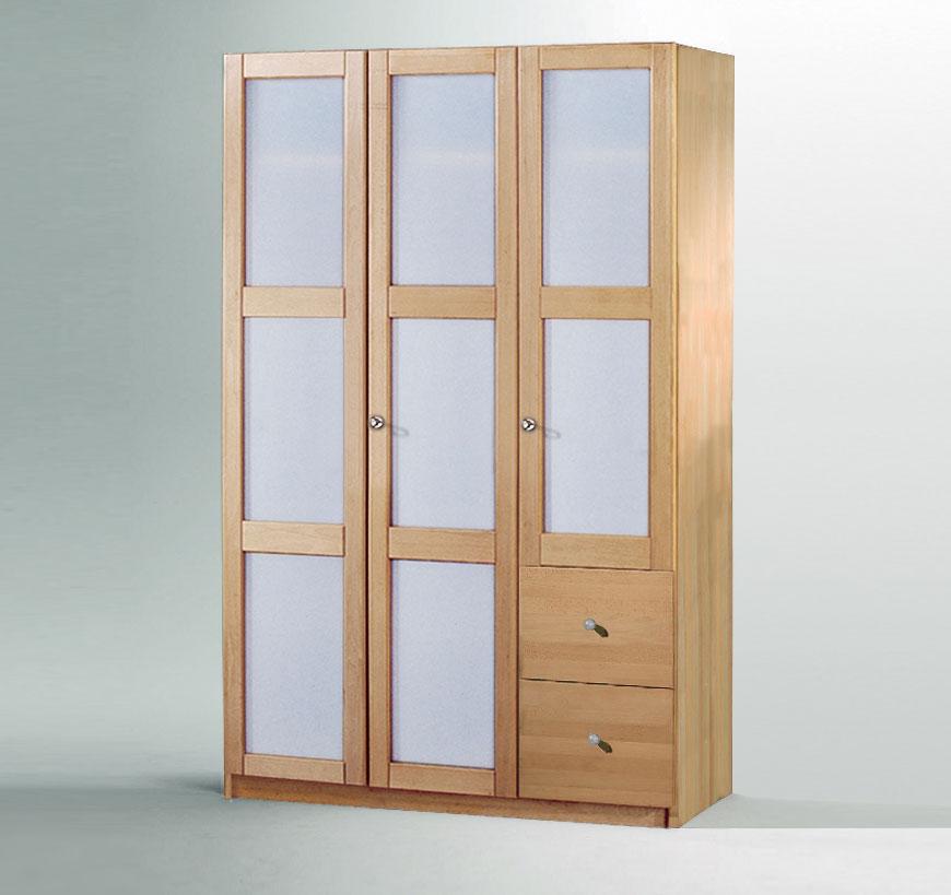 stauraum bietet variante 02 des kleiderschranks mira mit glas. Black Bedroom Furniture Sets. Home Design Ideas