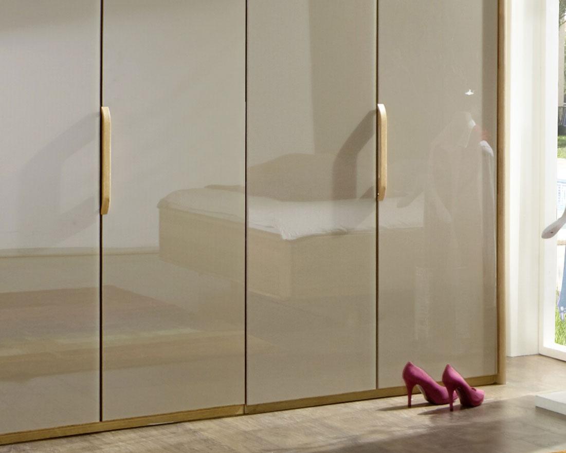 moderner faltt ren schrank z b 3 t rig mit glas morley. Black Bedroom Furniture Sets. Home Design Ideas