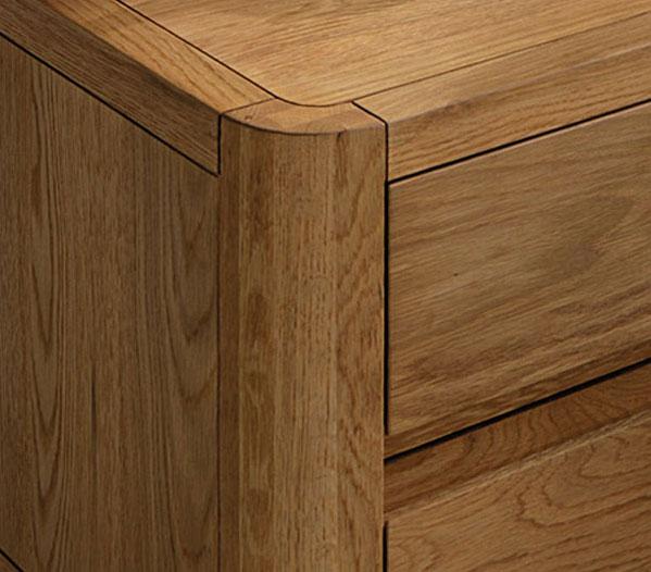 massivholz kommode aus hochwertiger eiche lugo. Black Bedroom Furniture Sets. Home Design Ideas