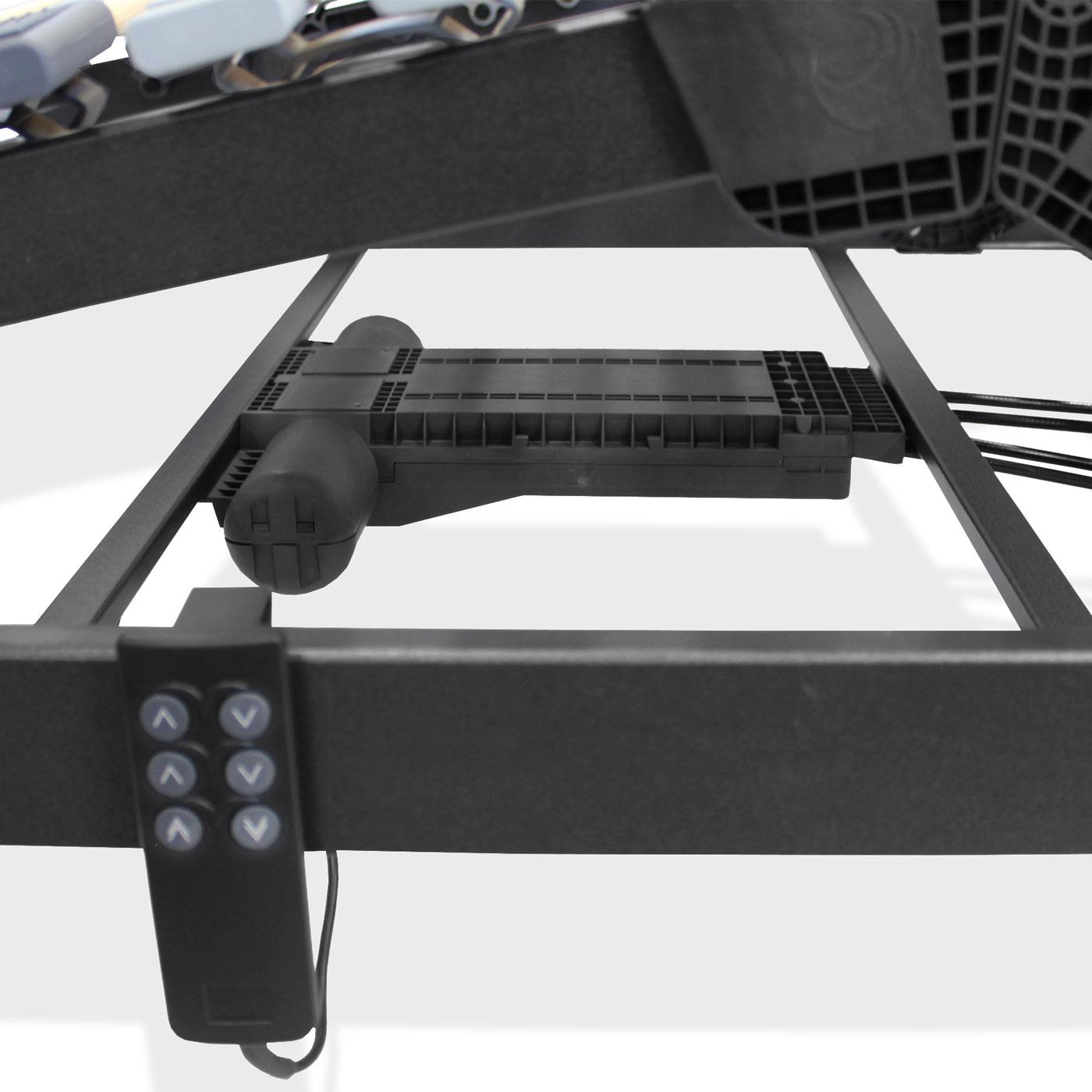 elektrischer lattenrost orthowell ultraflex xxl motor. Black Bedroom Furniture Sets. Home Design Ideas