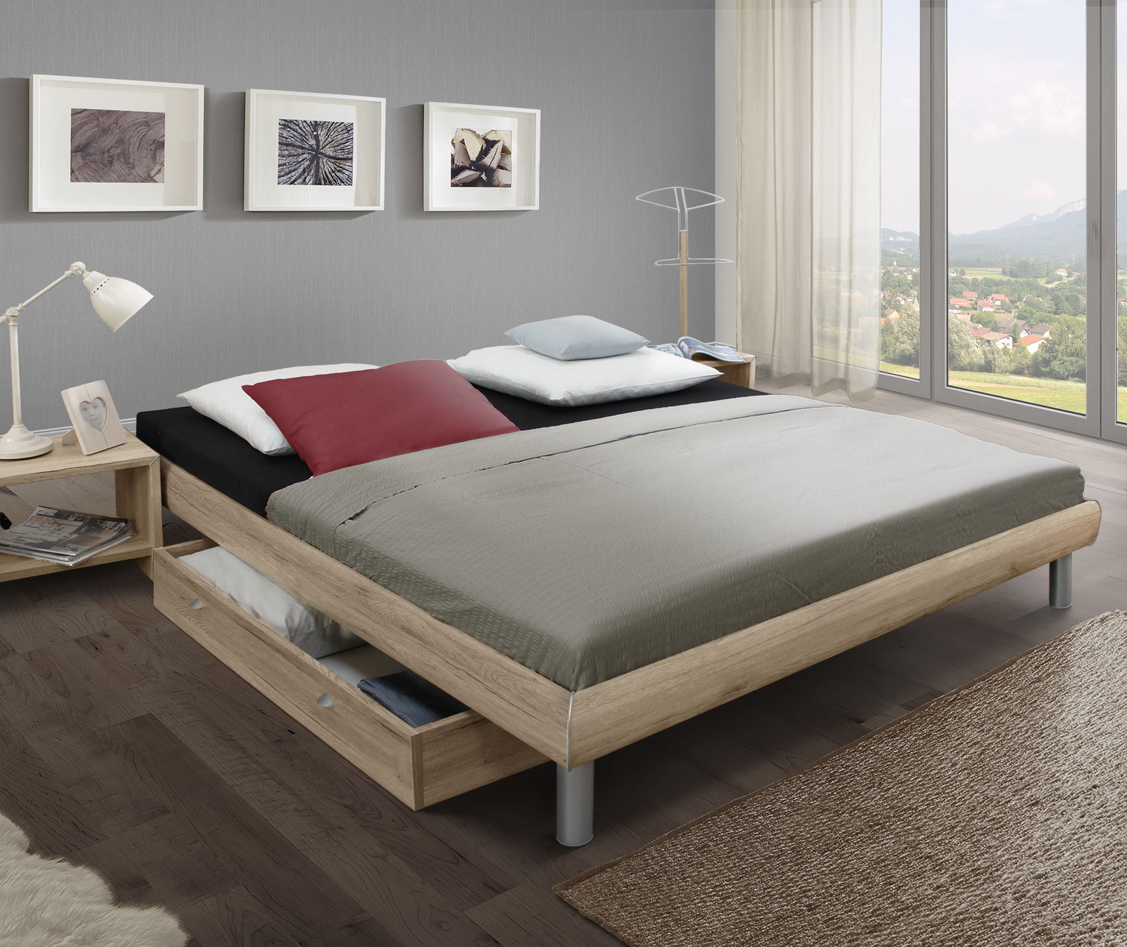 gem tliche schlafst tte die liege tanaro in der dekor variante. Black Bedroom Furniture Sets. Home Design Ideas