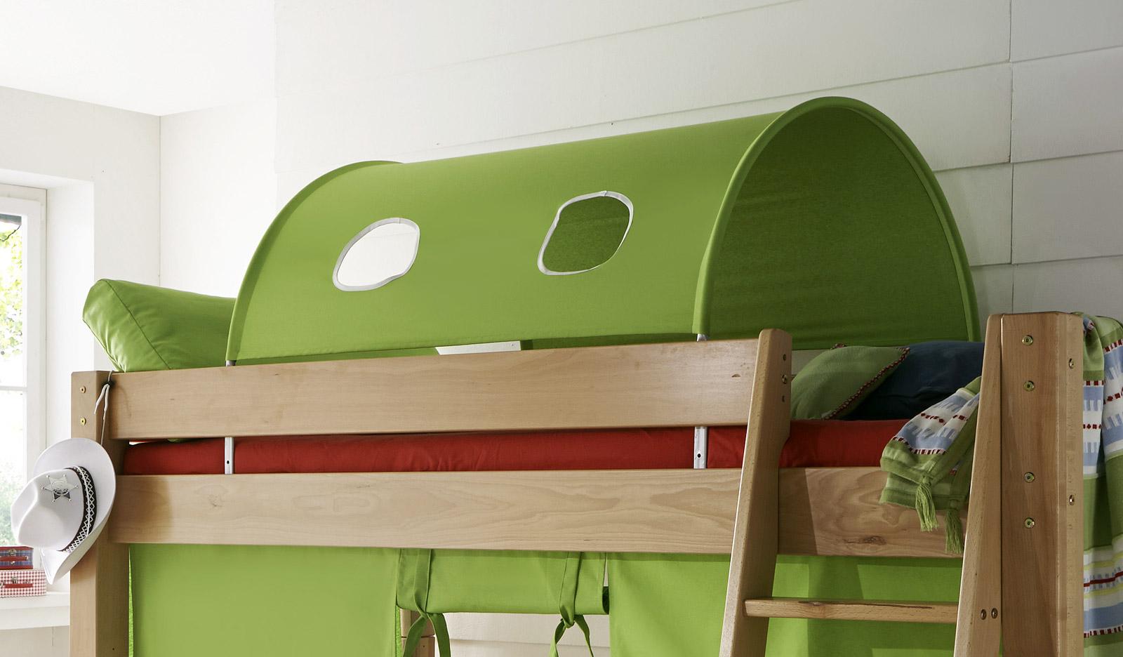 tolles kinderhochbett mit leiter kids fantasy. Black Bedroom Furniture Sets. Home Design Ideas