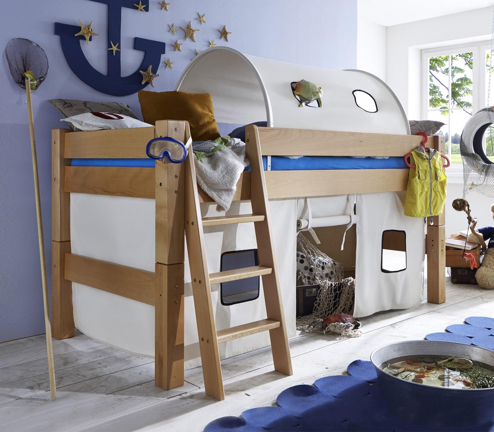 Kinderhochbett für zwei  Stabile Hochbetten für Kleinkinder im Kinderzimmer | BETTEN.de