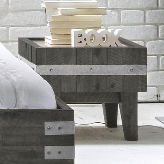 nachttisch im industrial design kaufen - paraiso, Schlafzimmer entwurf