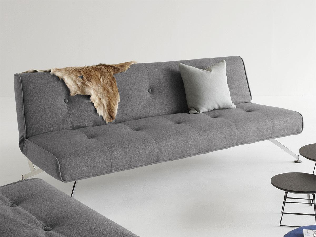 elegante couch mit federkern und schlaffunktion norton