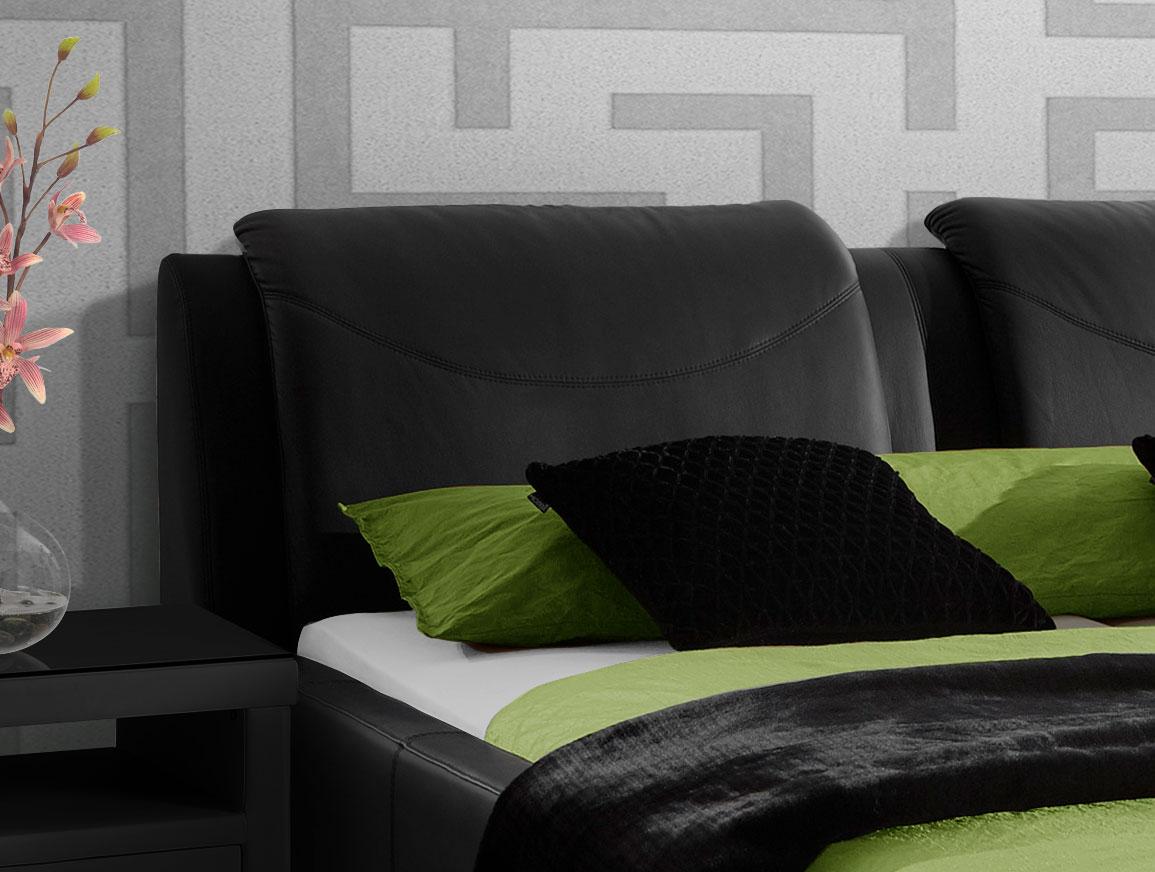 erstaunlich polsterbett mit hohem kopfteil fotos erindzain. Black Bedroom Furniture Sets. Home Design Ideas