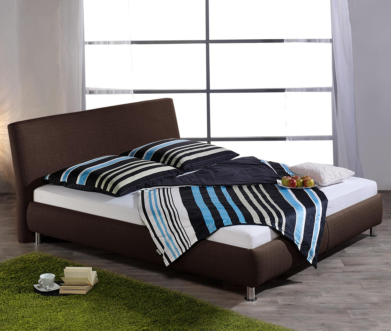 polsterbett im set mit lattenrost und matratze pacora. Black Bedroom Furniture Sets. Home Design Ideas
