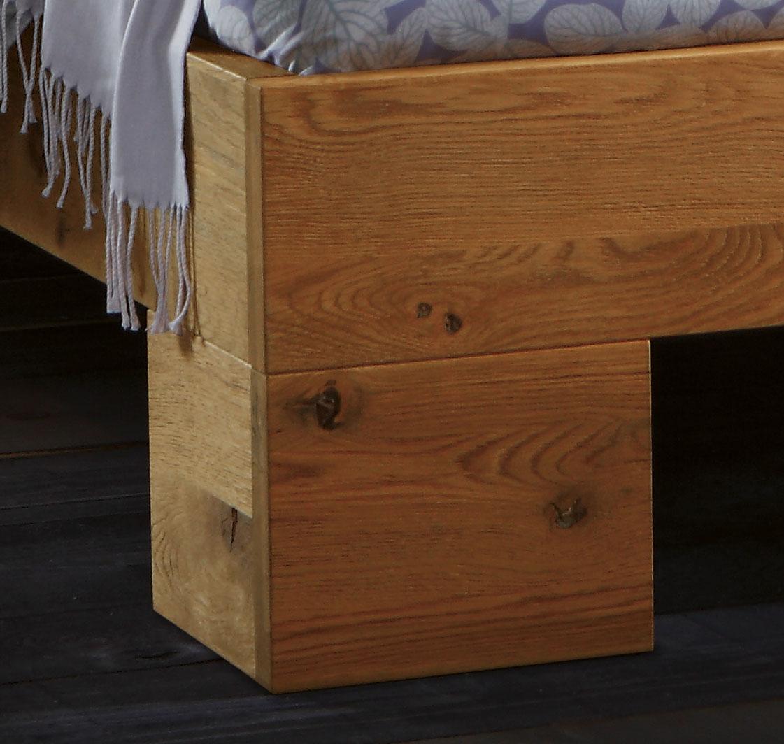 massivholzbett aus wildeiche in bergr e porto. Black Bedroom Furniture Sets. Home Design Ideas